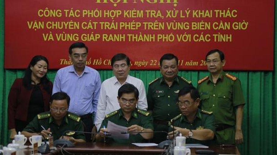 TP HCM mạnh tay trị 'cát tặc' biển Cầu Giờ và vùng giáp ranh