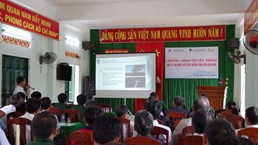 BĐBP Bình Định truyền thông bảo đảm an ninh, an toàn dầu khí và bảo vệ chủ quyền biển đảo