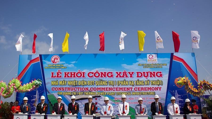 Khởi công nhà máy nhiệt điện hơn 55 ngàn tỷ đồng tại Quảng Trị