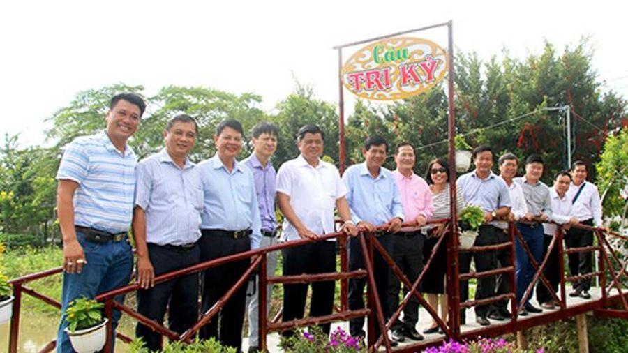 Xây dựng khu dân cư nông thôn mới vùng biên ở Đồng Tháp
