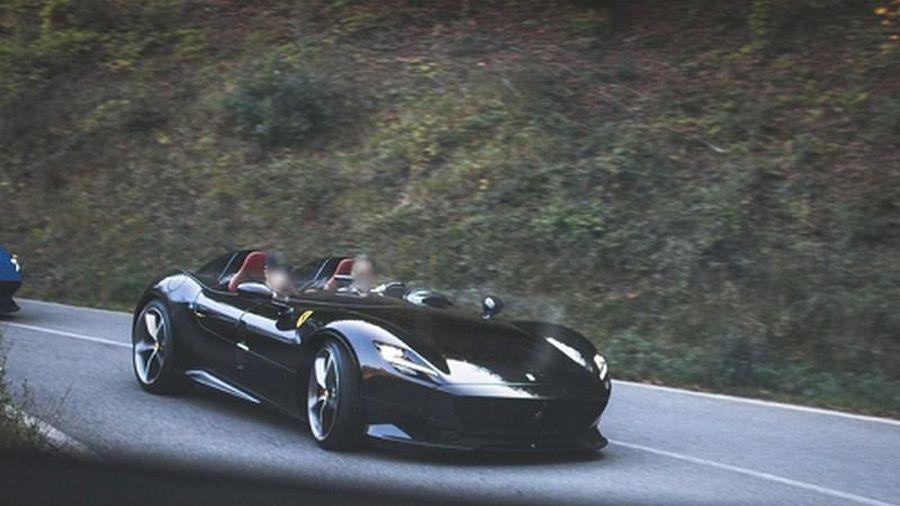 Siêu xe Ferrari Monza SP2 gần 92 tỷ đồng lượn phố