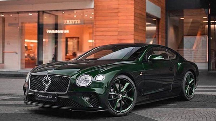 Chi tiết xe siêu sang Bentley Continental GT Number 9 mới