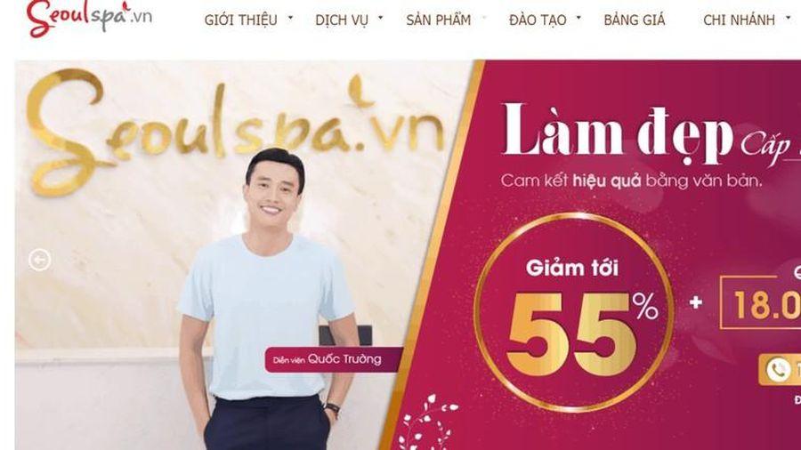 Sở Y tế TP HCM phạt Seoulspa 30 triệu vì quảng cáo sai quy định