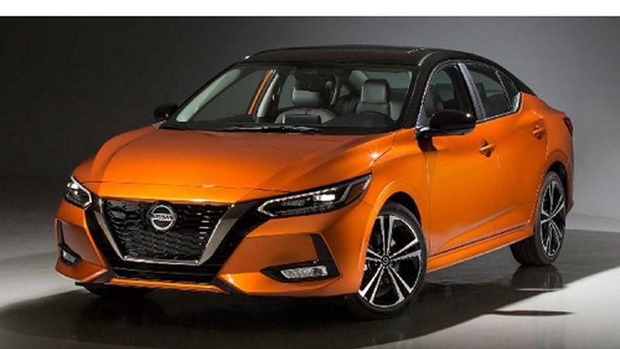 Chi tiết Nissan Sentra thế hệ mới ''lột xác'' để đấu Mazda3