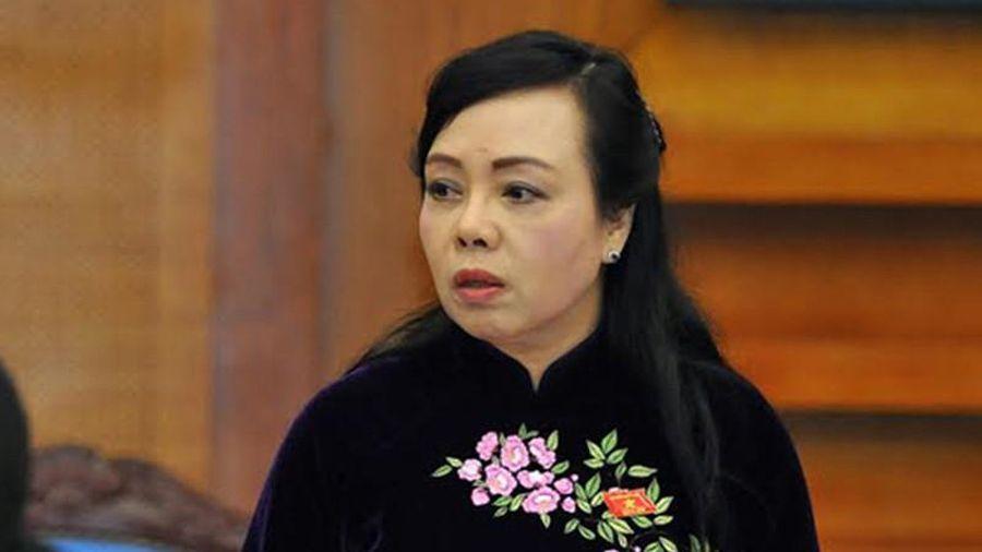 Bà Nguyễn Thị Kim Tiến chính thức thôi chức Bộ trưởng Y tế
