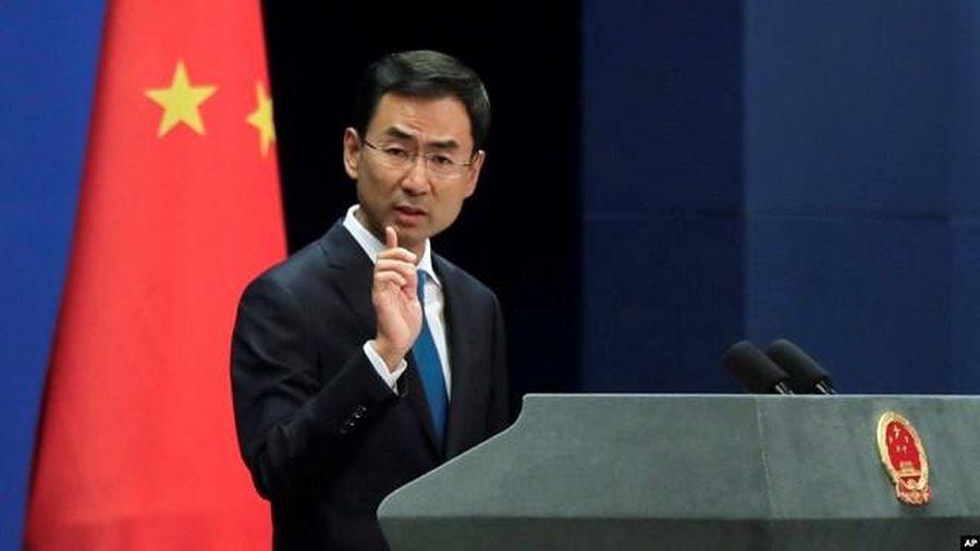 Trung Quốc tuyên bố đáp trả nếu Mỹ thông qua dự luật ủng hộ người biểu tình Hong Kong