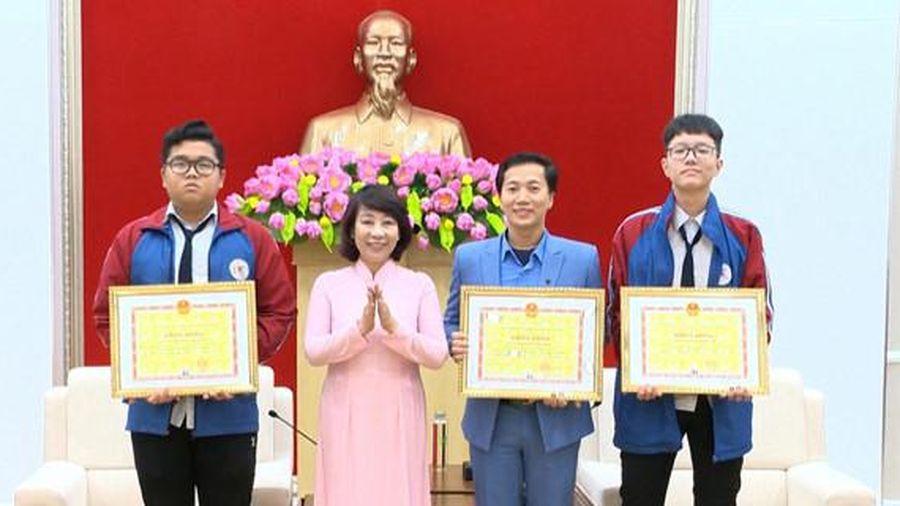 Cuộc thi phát minh sáng chế quốc tế INOVA: Học sinh Quảng Ninh đoạt Huy chương Bạc