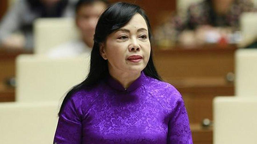 Thủ tướng trình Quốc hội phê chuẩn miễn nhiệm Bộ trưởng Nguyễn Thị Kim Tiến