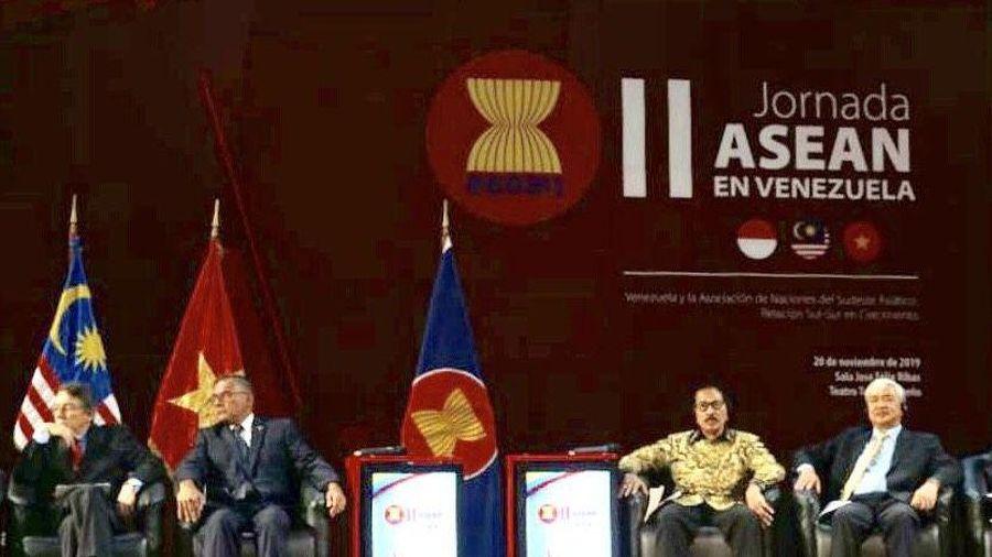 Venezuela đánh giá cao việc xây dựng lòng tin và thu hút đầu tư từ các nước ASEAN