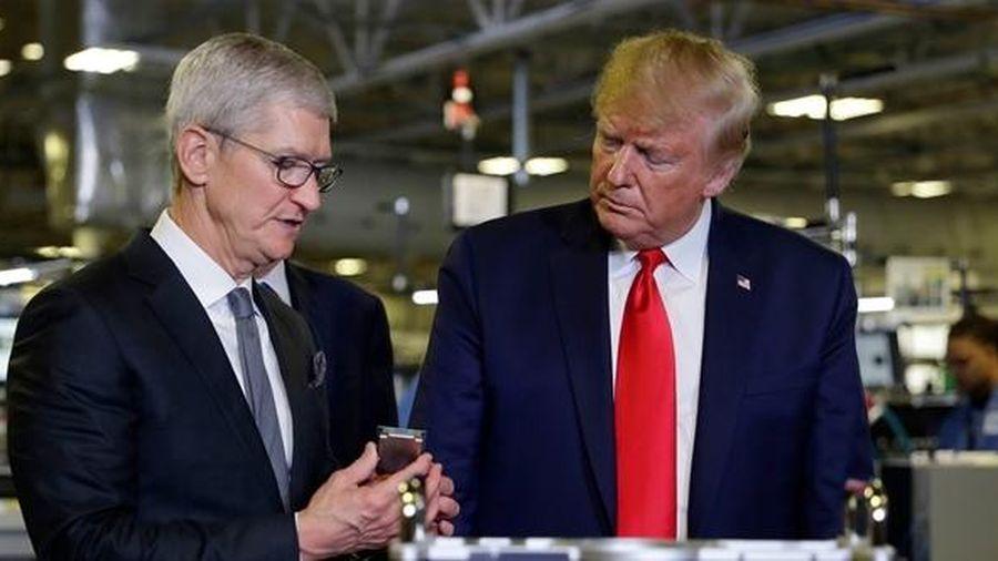 Mỹ sẽ miễn thuế nhập khẩu với Apple sản xuất từ Trung Quốc?