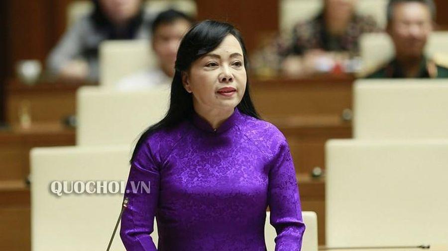 Miễn nhiệm Bộ trưởng Bộ Y tế đối với bà Nguyễn Thị Kim Tiến