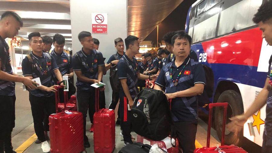 U22 Việt Nam tới Manila, sẵn sàng tranh HCV SEA Games 30