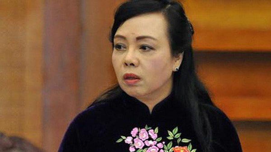 Thủ tướng đã trình Quốc hội phê chuẩn miễn nhiệm Bộ trưởng Bộ Y tế
