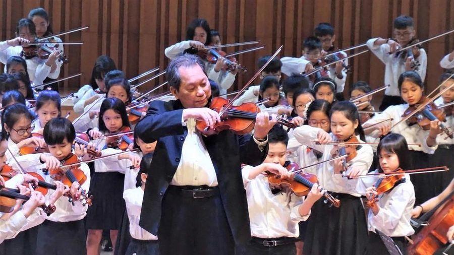 Nghệ sĩ nhân dân violin Ngô Văn Thành trọn đời với sự nghiệp giáo dục âm nhạc