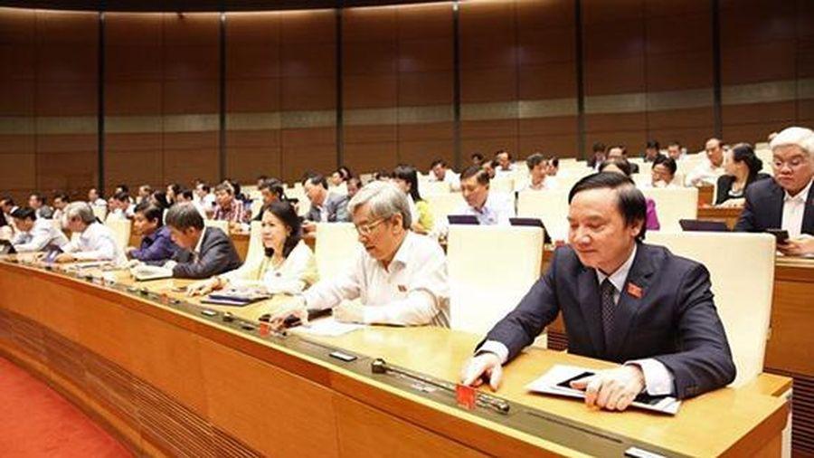 Quốc hội thông qua Luật Tổ chức Chính phủ và Luật Tổ chức chính quyền địa phương