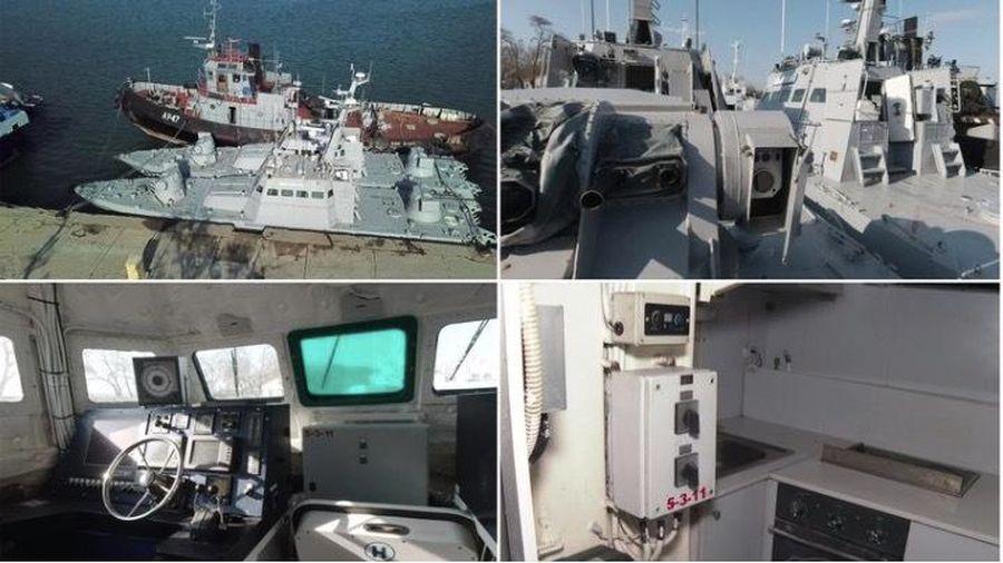 Ukraina tố Nga 'chơi xấu', phá hỏng tàu chiến khi trao trả