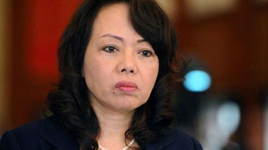 Bà Nguyễn Thị Kim Tiến rời cương vị Bộ trưởng Y tế