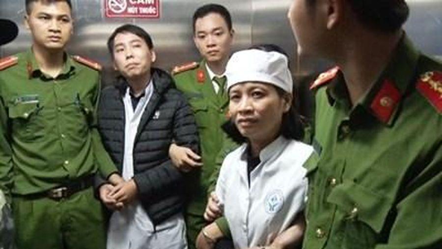Bắt 2 điều dưỡng Bệnh viện Nhi Nam Định ăn bớt thuốc của bệnh nhân