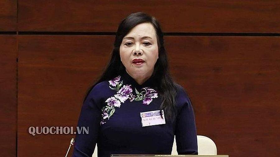 Miễn nhiệm Bộ trưởng Bộ Y tế Nguyễn Thị Kim Tiến