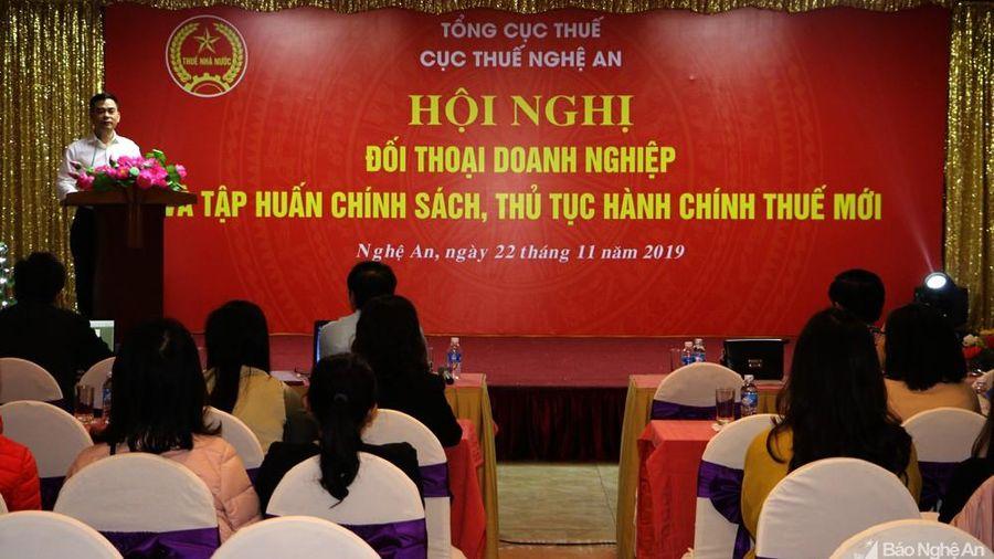 Hơn 600 doanh nghiệp Nghệ An được tập huấn về hóa đơn điện tử