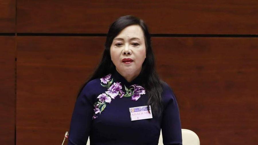 Quốc hội chính thức miễn nhiệm Bộ trưởng Bộ Y tế Nguyễn Thị Kim Tiến