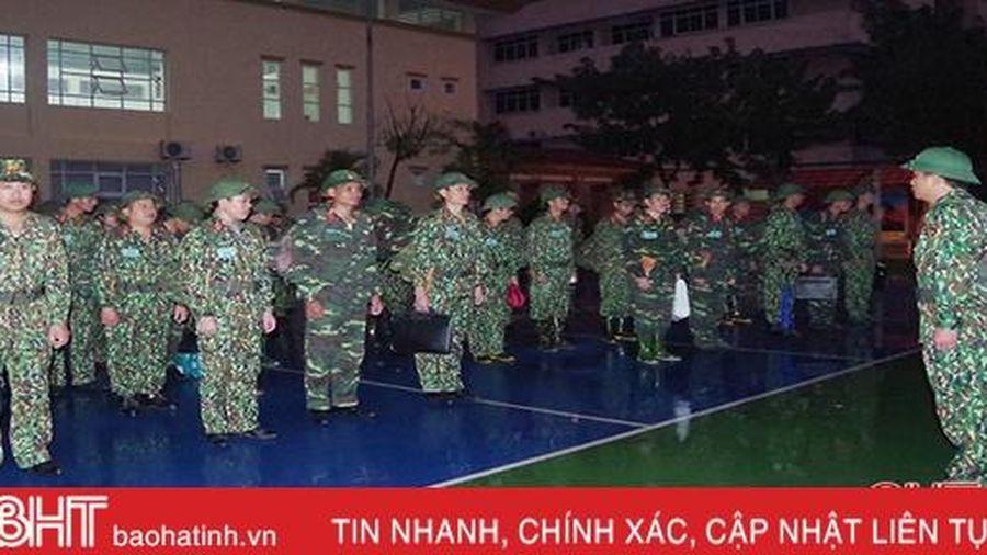 Bộ CHQS Hà Tĩnh diễn tập thành công chỉ huy tham mưu 1 bên 2 cấp năm 2019