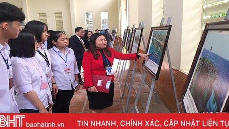 Triển lãm số Hoàng Sa, Trường Sa tại Hương Khê