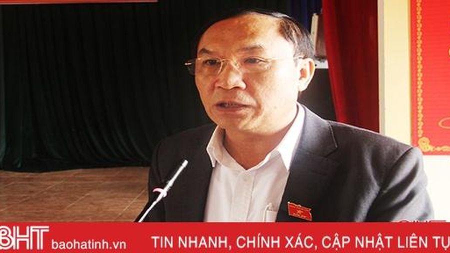 Kiến nghị, đề xuất của cử tri Đức Thọ sẽ được trình lên kỳ họp HĐND tỉnh sắp tới