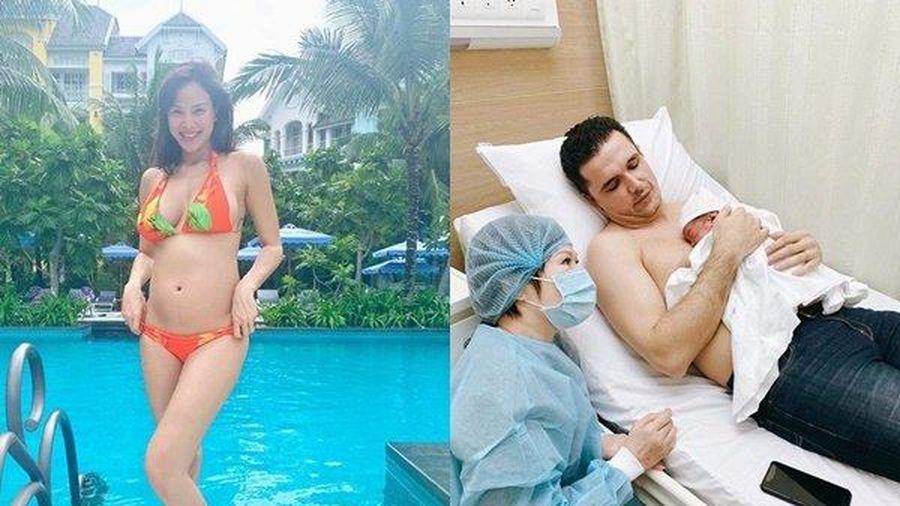 MC Phương Mai lo lắng cho thân phận 'đẻ thuê' khi quý tử mới sinh chẳng giống mình