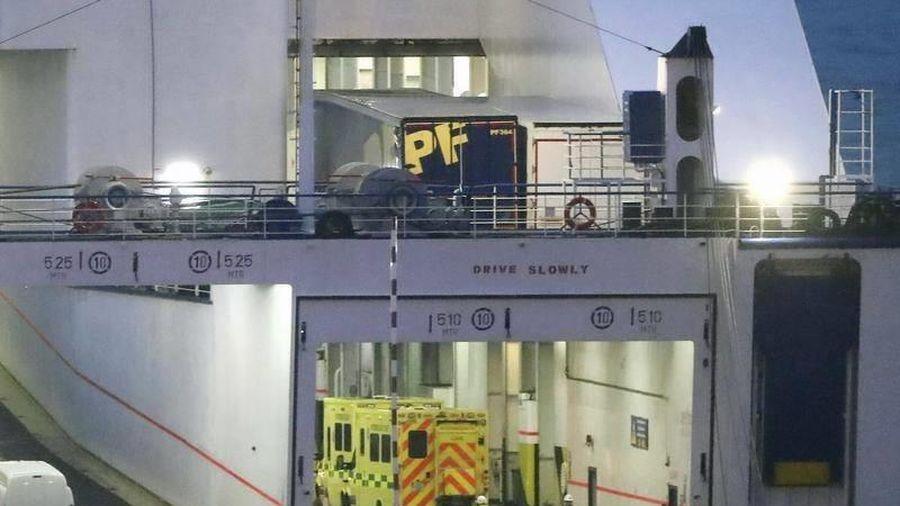 Ireland tìm thấy 16 người trong một chiếc xe tải từ Pháp