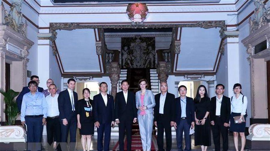 Doanh nghiệp Áo muốn hợp tác với TPHCM về phát triển đô thị