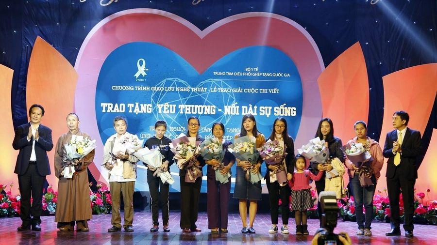 Trao tặng yêu thương: Tri ân những người hiến tặng mô tạng