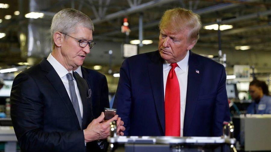 Tổng thống Trump đề nghị Apple tham gia xây dựng mạng 5G ở Mỹ