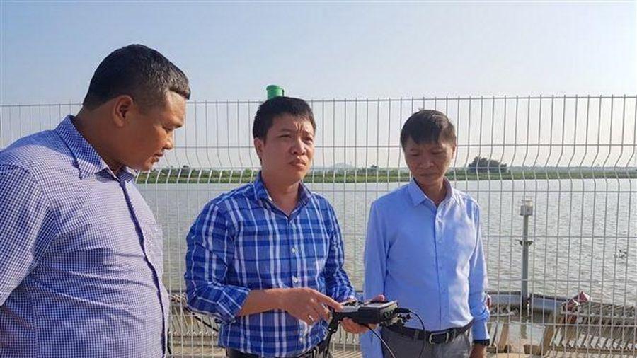 Nước sinh hoạt của người dân thành phố Hải Phòng đã hết nhiễm mặn