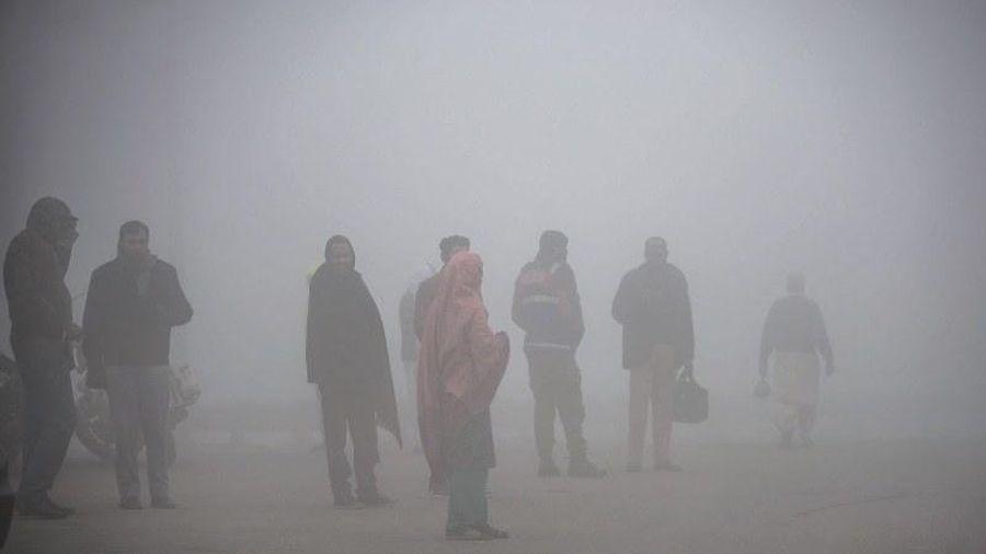 Khói bụi độc hại bao trùm khắp thành phố Lahore của Pakistan