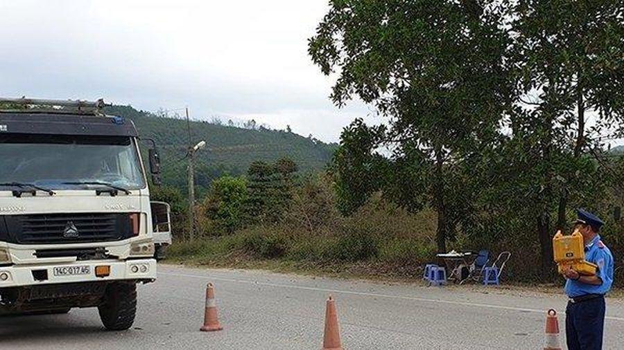 Xe 'hổ vồ' và những mánh khóe trốn kiểm soát trọng tải