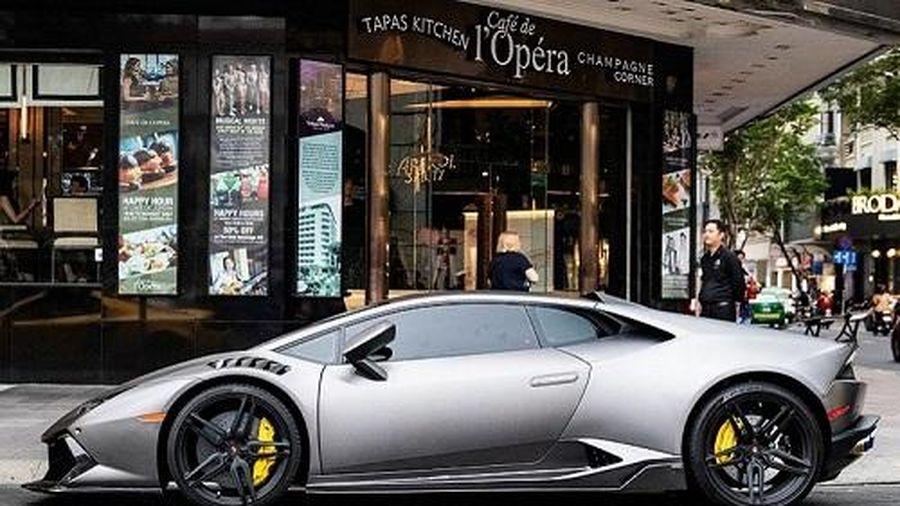 Ngắm Lamborghini Huracan độ siêu xe triệu đô Reventon ở Sài Gòn