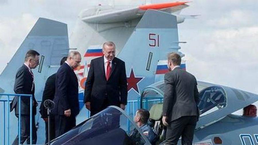 Nga ép Thổ Nhĩ Kỳ mua Su-35 trong điều kiện phi thực tế