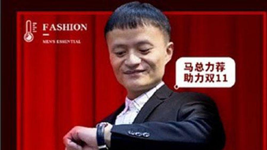 Đóng cửa gian hàng online thuê người mẫu giả Jack Ma