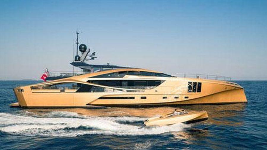 Khám phá siêu du thuyền dát vàng có giá 700 tỷ VND