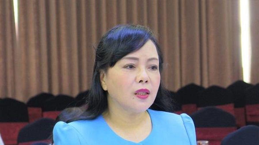 Bà Nguyễn Thị Kim Tiến không còn là Bộ trưởng Bộ Y tế