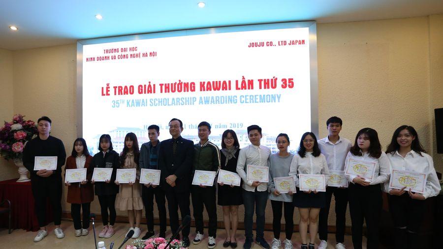 Lễ Ký kết thỏa thuận học bổng Kawai lần thứ 18