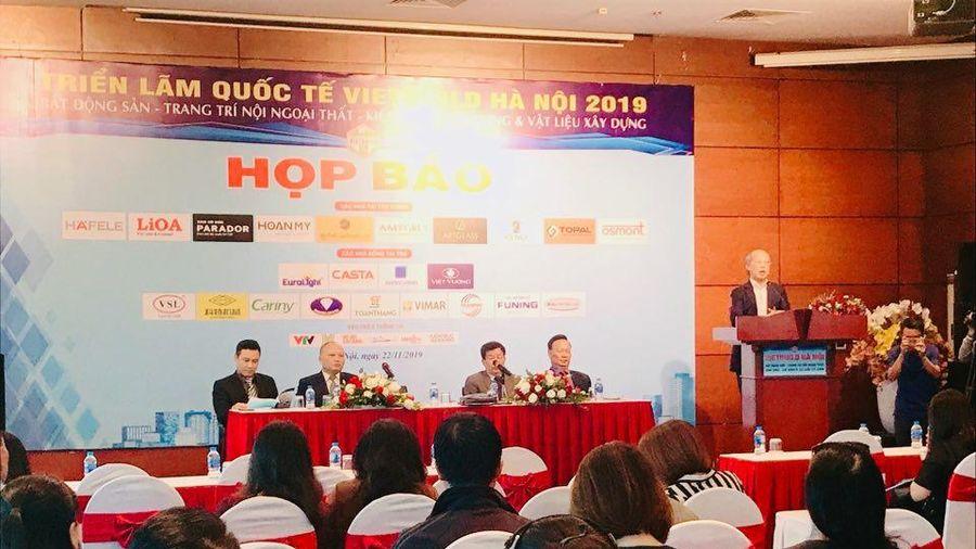 Gần 1.600 gian hàng tham dự VIETBUILD Hà Nội 2019 lần 3