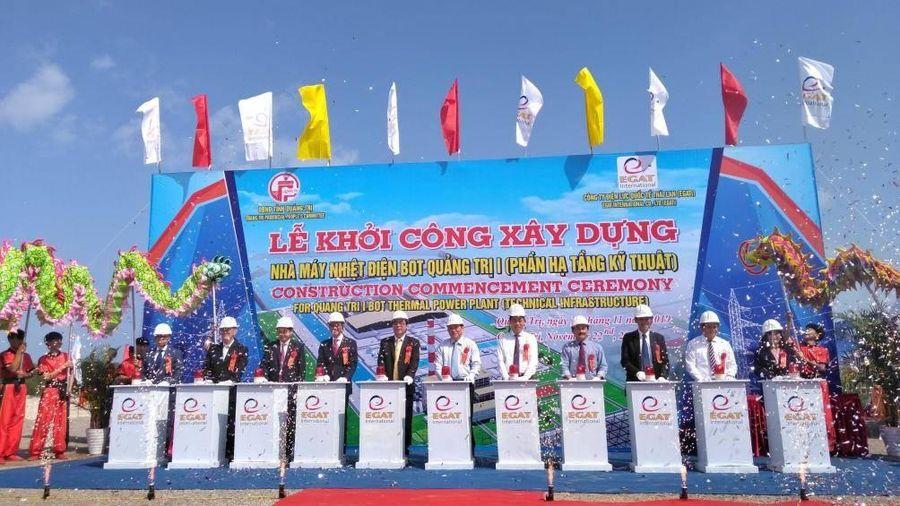 Quảng Trị khởi công nhà máy nhiệt điện vốn đầu tư hơn 2,5 tỷ USD
