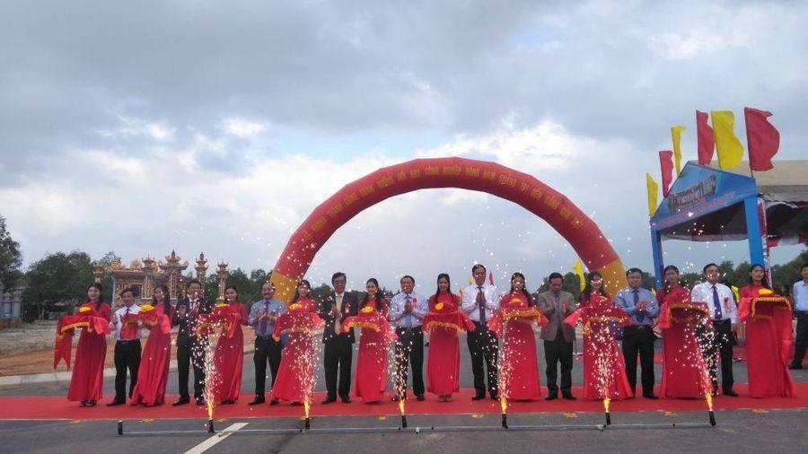 Khánh thành Đường trục dọc Khu kinh tế Đông Nam Quảng Trị 700 tỷ đồng