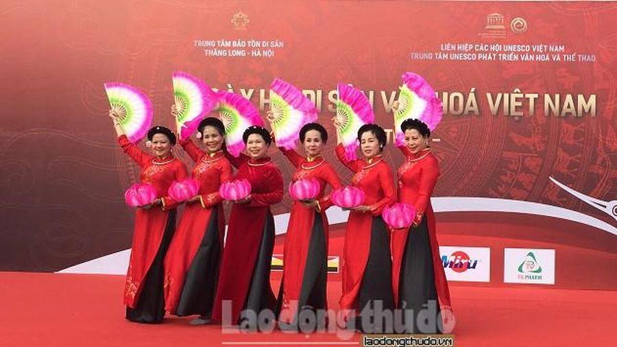 Khai mạc 'Ngày hội di sản văn hóa Việt Nam'
