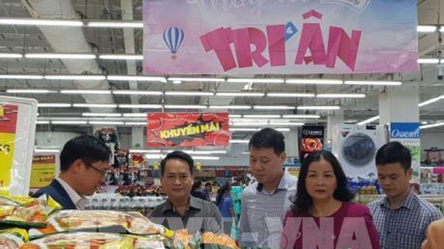 Hà Nội: Siêu thị 'Khóa giá' trong dịp Tết Nguyên đán
