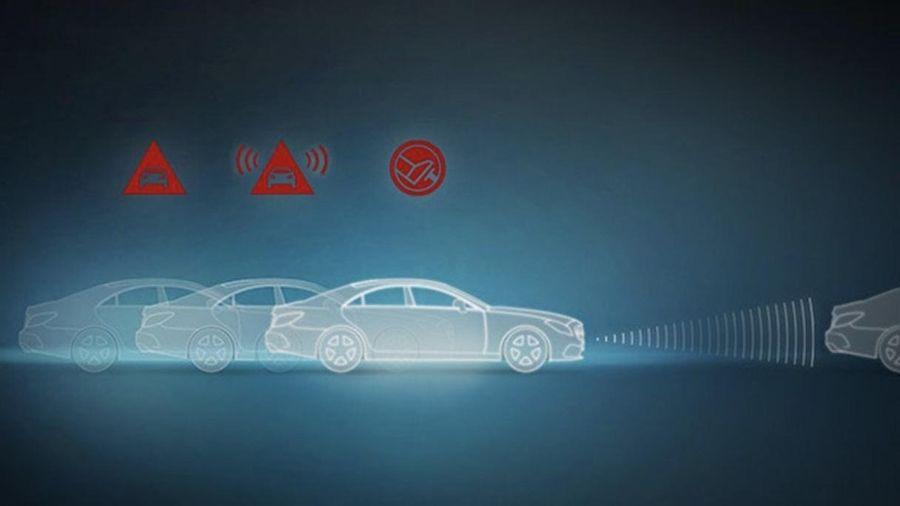 Hệ thống phòng ngừa va chạm CPA Plus trên xe Mercedes GLC 250 hoạt động như thế nào?