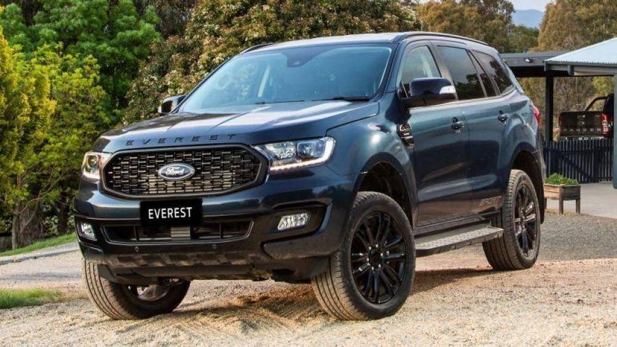 Ford Everest Sport 2020 thêm trang bị, giảm giá bán