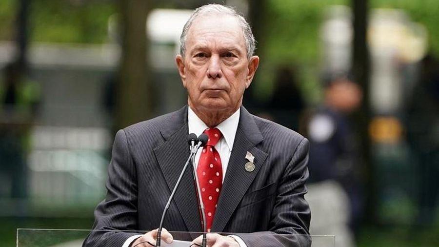 Tỷ phú Bloomberg đăng ký tranh cử tổng thống Mỹ